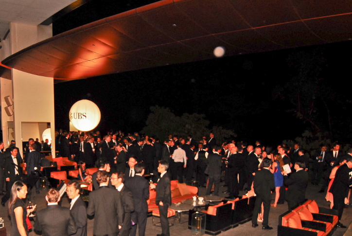 Picture taken at Bob's Bar, Capella at the Eurekahedge Asian Hedge Fund Awards 2013