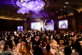Picture of all the guests seated at the Eurekahedge Asian Hedge Fund Awards 2014
