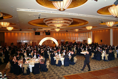 Picture of guests seated at the Eurekahedge Asian Hedge Fund Awards 2005