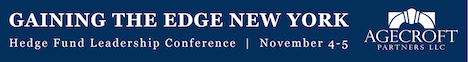 Hedge Fund Event - Gaining the Edge 2019 New York Hedge Fund Conference
