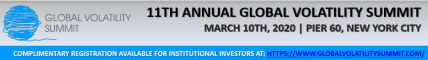 Hedge Fund Event - 11th Annual Global Volatility Summit