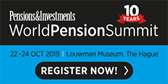 Hedge Fund Event - WorldPensionSummit 2019